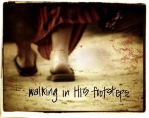Walking In His Footsteps pic