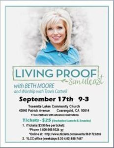 Beth Moore Event